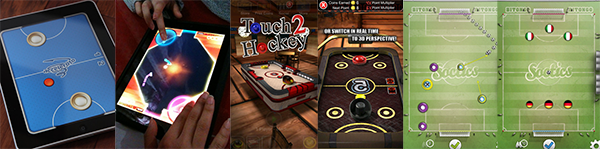Touch Hockey 桌上冰球2、Air Hockey 冰球 、Soctics League、Spikeball 钉球双人战、虚拟乒乓球