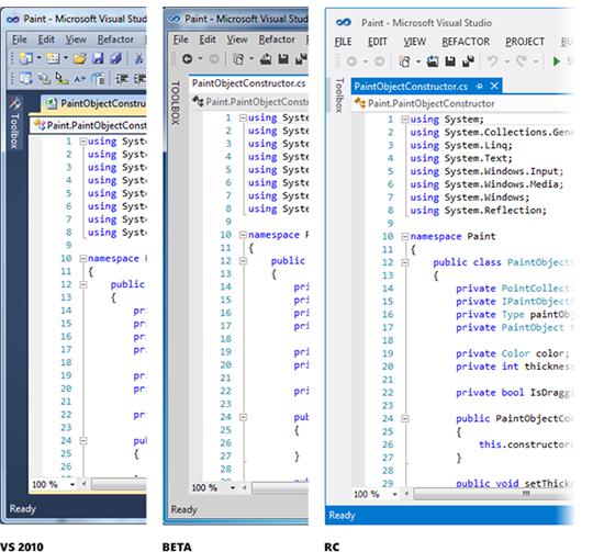 Visual Studio 界面 Metro 化