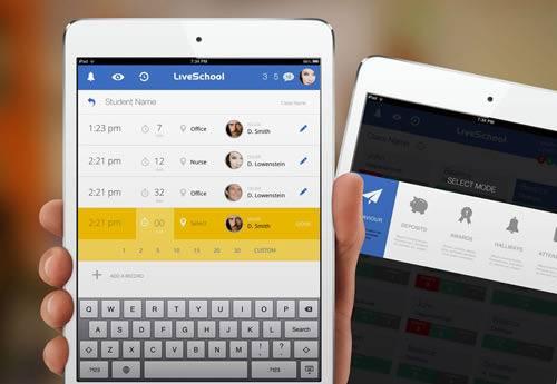 Rossul Design设计的iPad应用Live School