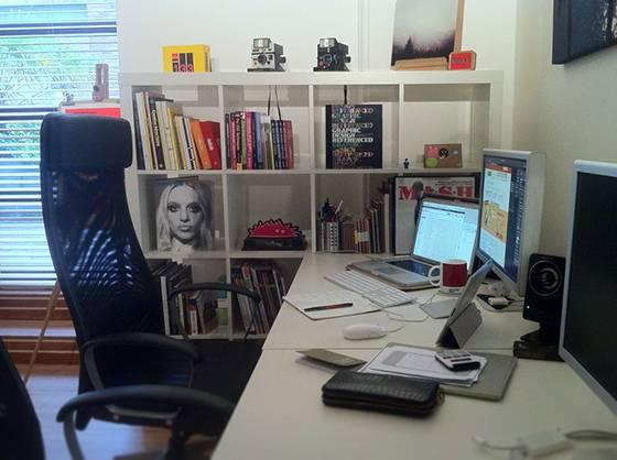 20 个顶级设计师的办公环境