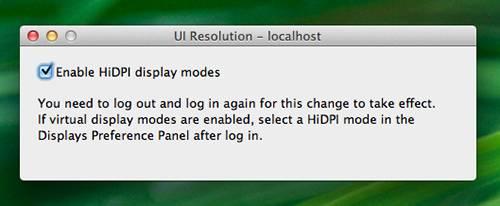 4-Enabling HiDPI using Quartz Debug on Lion
