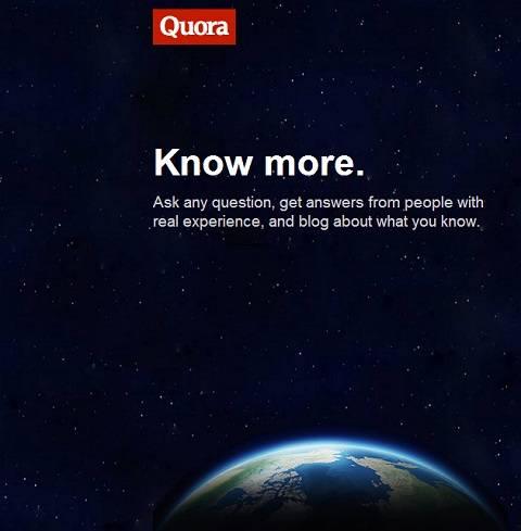 揭示 Quora 的真实使命