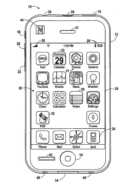 2010年Apple专利,表明Apple在移动支付领域的尝试