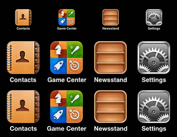 1-iPhone icons in regular and Retina Display sizes