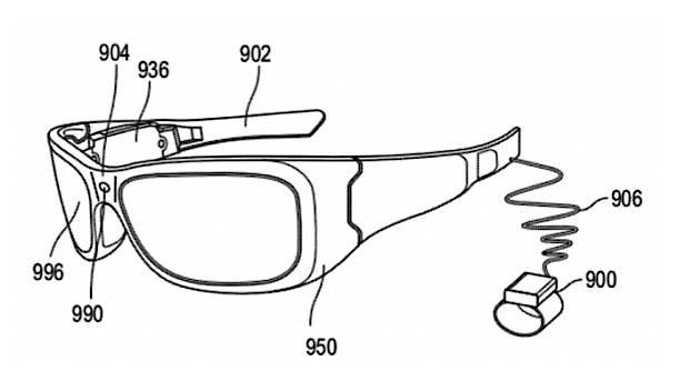 去年微软的增强现实眼镜专利