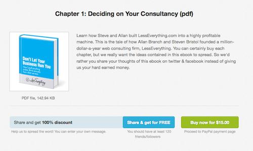 LessEverything 分享免费获得电子书